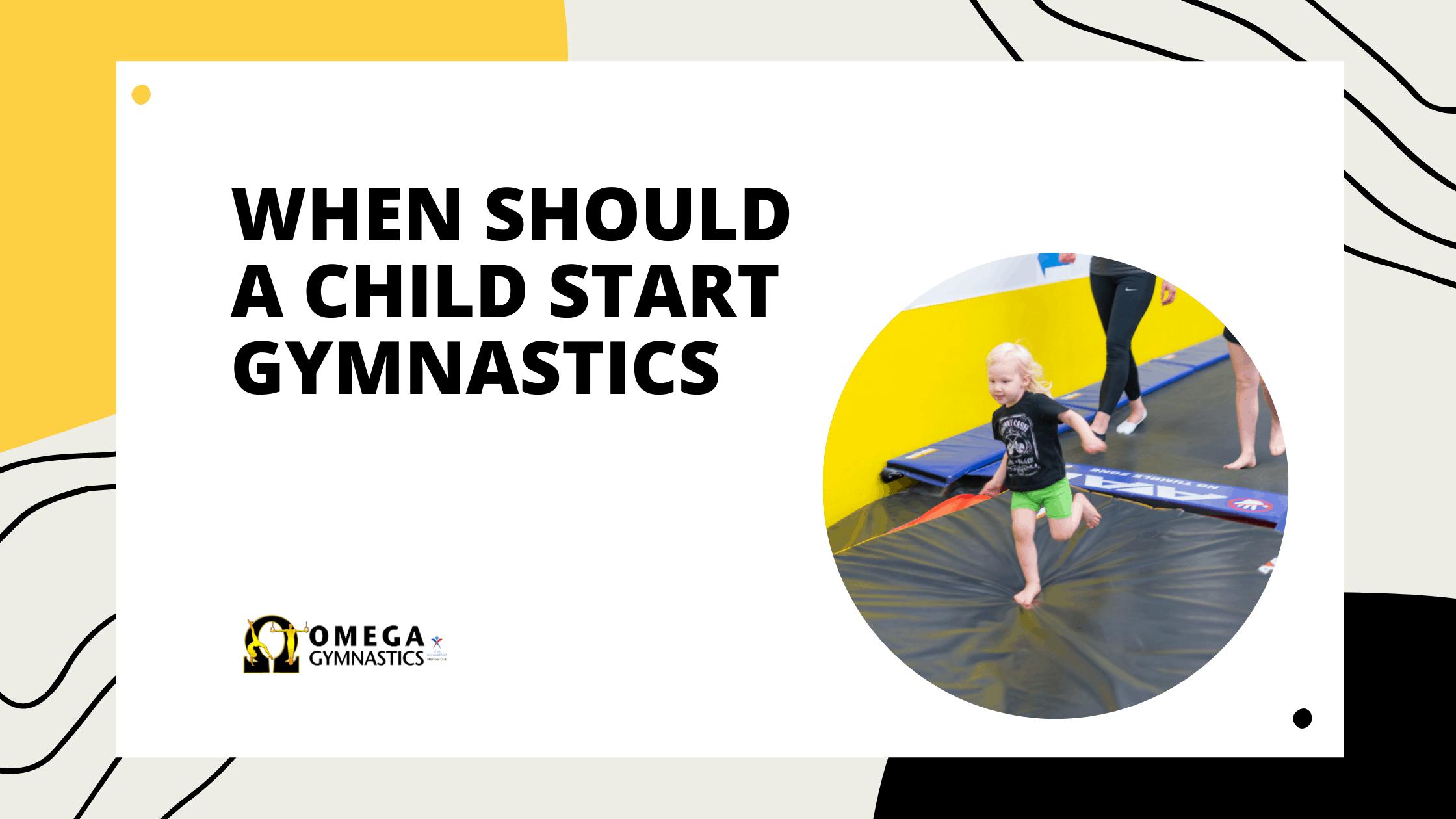 best age for kids to start gymnastics
