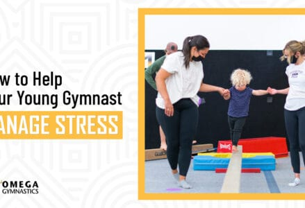 how young gymnasts can manage stress